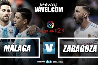 Previa Málaga CF - Real Zaragoza | Fotomontaje: Vavel.com