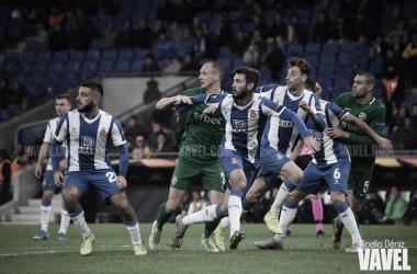 Facundo Ferreyra en un lance durante un partido de Europa League. Foto: Noelia Déniz, VAVEL