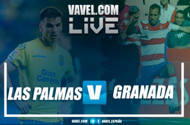 Las Palmas vs Granada CF en vivo y en directo online en Segunda División 2018 (0-0)