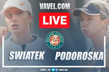 French Open: Iga Swiatek vs Nadia Podoroska: Live Score and Stream Updates