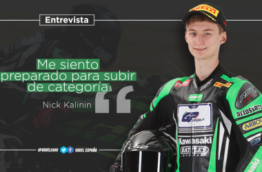 "Entrevista a Nick Kalinin: ""Me siento preparado para subir de categoría"""