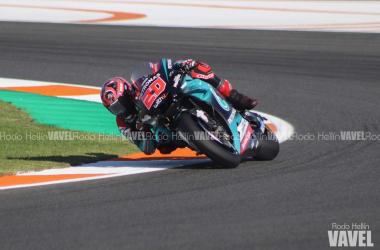 El rookie del año busca la victoria en los primeros libres del Gran Premio de Valencia