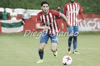 El Sporting B renueva a Ramón // imagen: Diego Blanco