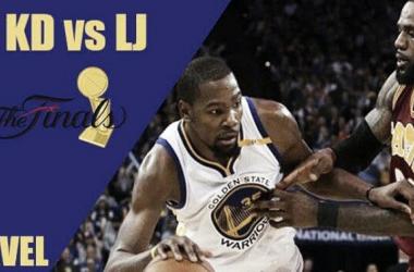 Finales NBA 2017: James y Durant, el duelo que llevamos esperando cinco años