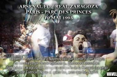 20º aniversario de la Recopa: el gol de Nayim