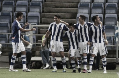 El Decano es el máximo goleador de la categoría, pero también de los más goleados. Foto | Huelvaya.