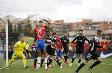 El Recreativo Granada perdió con el Marbella | Foto: GCF