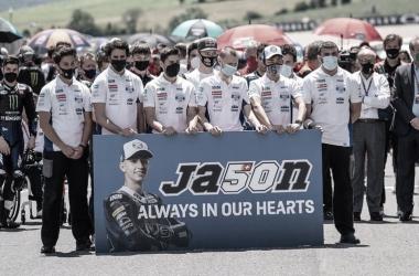 Stefan Kirsch, jefe de equipo dePrüstelGP, recuerda a Jason Dupasquier