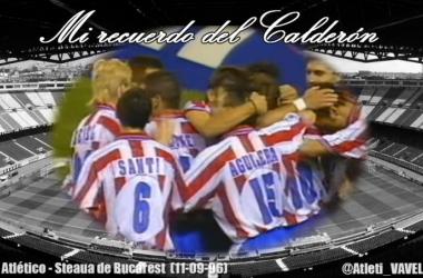 Mi recuerdo del Calderón: en el sitio adecuado