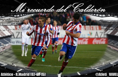 Mi recuerdo del Calderón: Papá, soy del Atleti