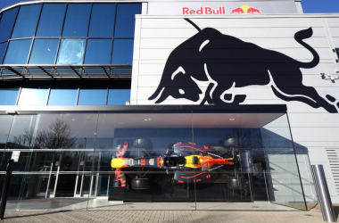 Hospitality de Red Bull. Vía: Formula 1 Official Home