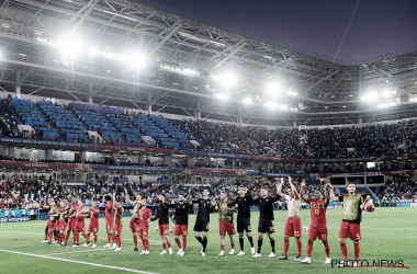 Bélgica en este mundial |Foto: Twitter @BelRedDevils