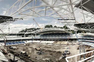 Imagen del pasado 117 de julio del estadio de Anoeta. | Foto: Real Sociedad