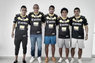 Murciélagos FC presentó a sus cinco refuerzos para el Clausura 2016