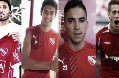 Campaña, Fernández, Rigoni y Denis para el 2016