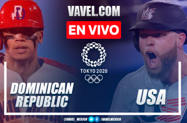 Highlights: Dominican Republic 1-3 USA in Baseball Olympic Games 2020