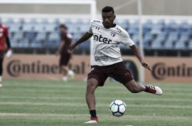 De volta ao time do São Paulo, Reinaldo projeta duelo com CRB pela Copa do Brasil
