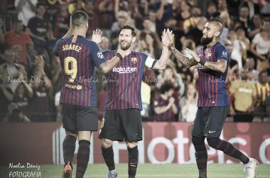 El Barcelona estará en semifinales tras remontar al Sevilla | Foto: Noelia Déniz - VAVEL