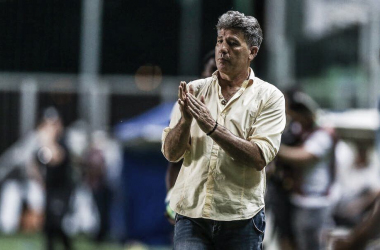 "Após vitória do Grêmio, Renato pondera: ""Jogando só o Brasileiro, seríamos candidatos ao título"""