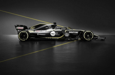 A Renault foi a sexta colocada em 2017 e quer evoluir mais (Foto: Divulgação/Renault Sport F1)