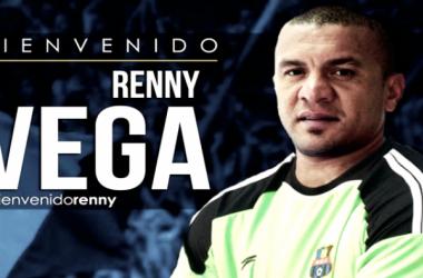 Renny Vega se vestirá de negriazul/ Foto: Prensa Zulia FC