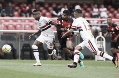 """Jogadores do São Paulo lamentam empate diante do Flamengo: """"Infelizmente a vitória não veio"""""""