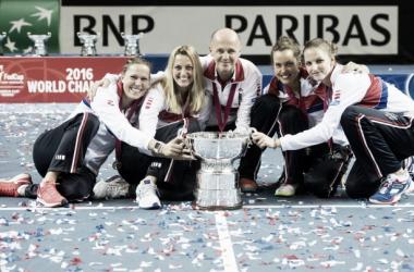 La hegemonia checa en la Fed Cup