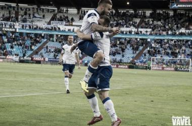 Tras 38 jornadas, el Real Zaragoza ya sabe lo que es remontar tras comenzar perdiendo