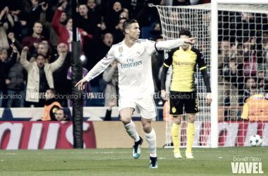 Cristiano Ronaldo celebra un gol | Foto: Daniel Nieto (VAVEL)