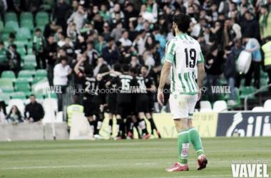 Molina marcó 22 goles tras abandonar el Real Betis | Foto: Juan Ignacio Lechuga (VAVEL)