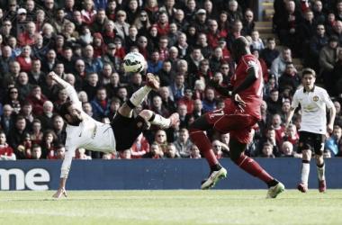 Un privilegiado en Anfield | Fotografía: Manchester United.