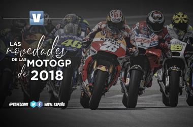 Las novedades de las MotoGP de 2018