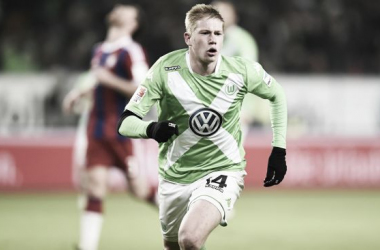 Kevin De Bruyne fue el Mejor Jugador de la Bundesliga la pasada temporada. // (Foto de goal.com)