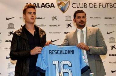 """Ezequiel Rescaldani: """"Estar aquí es un paso gigantesco en mi carrera"""""""