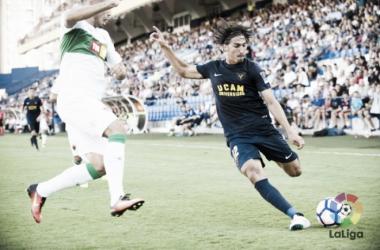 El UCAM ha anunciado la rescisión del contrato de Guichón | Imagen: UCAM Murcia CF