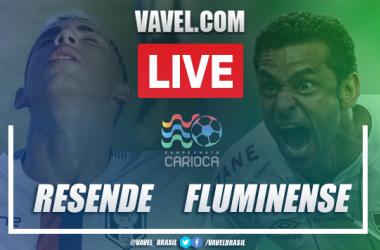 Gols e melhores momentos de Resende 2 x 1 Fluminense pelo Campeonato Carioca 2021