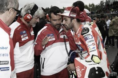 """Andrea Iannone: """"La carrera de Silverstone puede ser positiva para nosotros"""""""