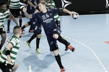 Resumen Montpellier HB (28-25) Barcelona Lassa por la ida de octavos de final de la EHF Velux Champions League