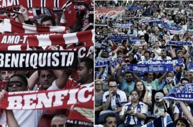 Fotos: SL Benfica - FC Porto.
