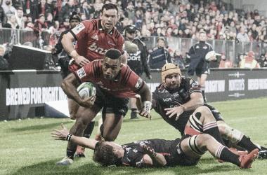 Crusaders estuvo imparable en la undécima semana del Super Rugby