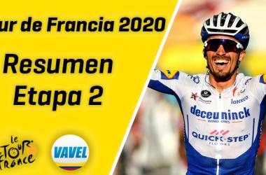 Tour de Francia 2020, etapa 2: Julian Alaphilippe vence para vestirse de gloria