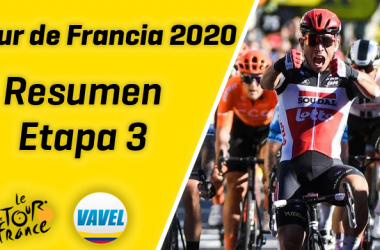 Tour de Francia 2020, etapa 3: Caleb Ewan remontó en el sprint y Julian Alaphilippe sigue líder