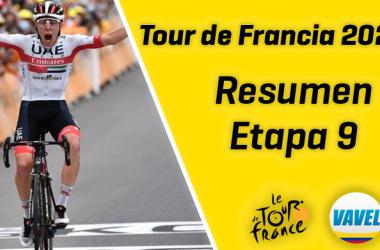 Tour de Francia 2020, etapa 9: revolución Pogačar