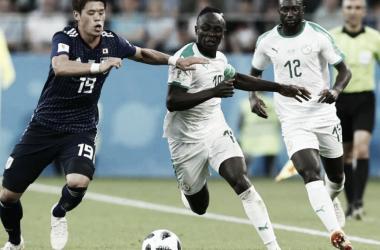 Mané tuvo si bautismo de gol en un Mundial (Foto: Web).