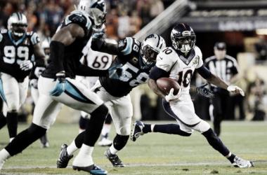Denver Broncos e Carolina Panthers se reencontram pós SuperBowl na volta da NFL. Foto: Denver Broncos/Divulgação