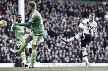 Eriksen resolve, Tottenham bate Sunderland e se afirma no G4