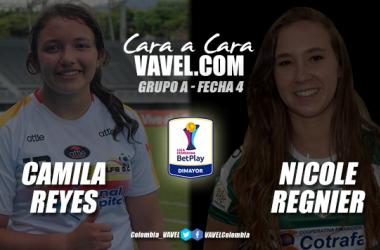 Cara a cara: Maria Camila Reyes vs. Nicole Regnier
