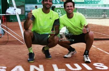 Mexicano campeón en San Luis. Foto vía: Tennis World Magazine.