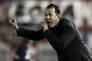 Reynoso volvió a quedar fuera de la Copa Libertadores en fase de grupos como técnico de Melgar (Foto: zonafutbol.pe)