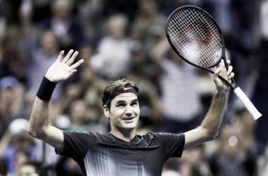 Federer sobrevive a duras penas en el US Open
